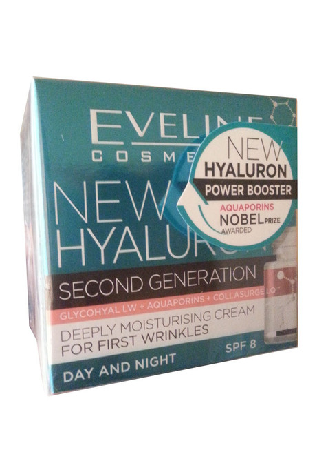 Eveline Cosmetics New Hyaluron 30+ Deeply Moisturising Cream For First Wrinkles (Front)