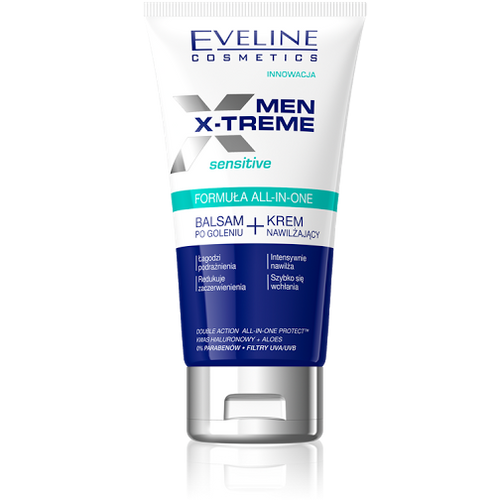 Eveline Men X-Treme After Shave Balm + Moisturising Cream
