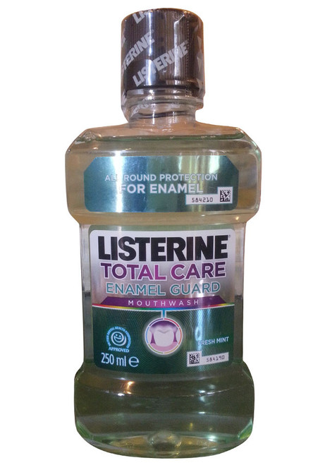 Listerine Total Care Mouthwash with Enamel Guard Front