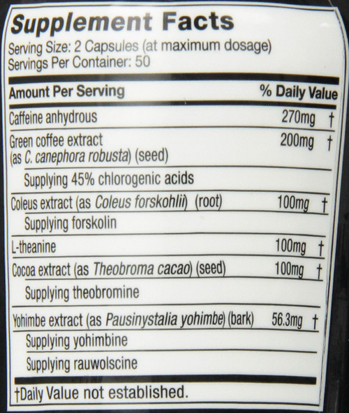 GNC MuscleTech Hydroxycut Hardcore Elite 100 Rapid-Release Thermo Caps