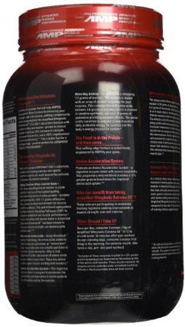 GNC Pro Performanc AMP Dietary Supplement 3 LB (48 oz) 1364 Grams