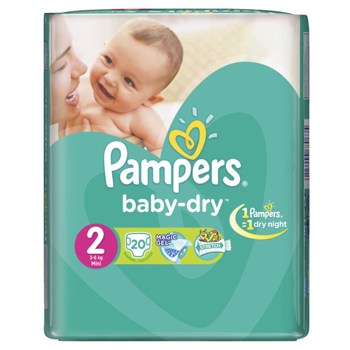 Pampers Baby-Dry Value Pack Buy online in Pakistan best price original product