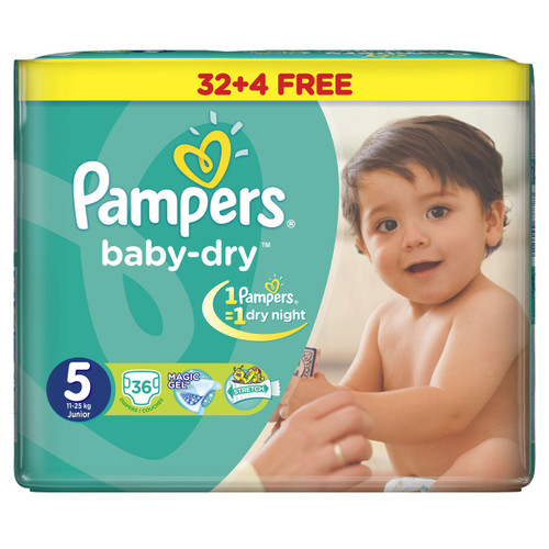 Pampers Baby-Dry Jumbo Pack Of 32 Buy online in Pakistan best price original product
