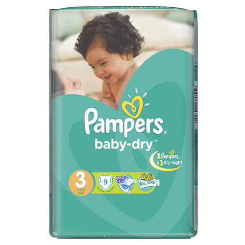 Pampers Baby-Dry Carry Pack Medium Butterfly Buy online in Pakistan best price original product