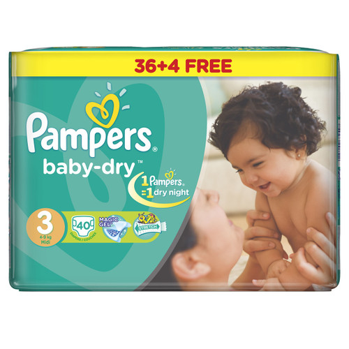 Pampers Baby Dry Jumbo Pack Medium Buy online in Pakistan best price original product