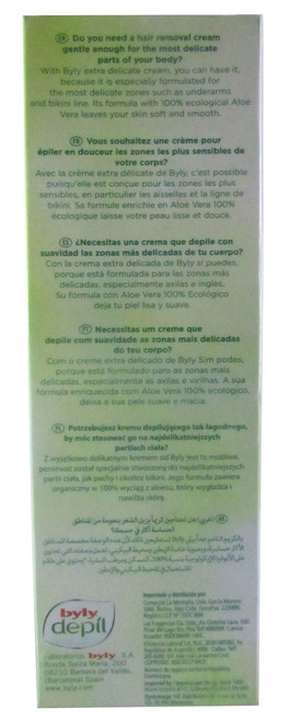 Byly Depil Effective & Natural Hair Removing Cream Tube Aloe Vera best price original product