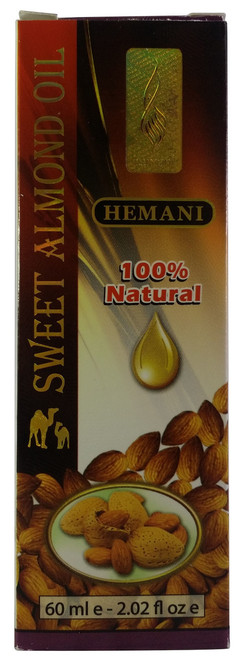 Hemani Sweet Almond Oil 60 Ml(Front) best price