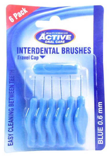 Beauty Formulas Active Oral Care Interdental Brushes 0.6 mm Buy online in Pakistan