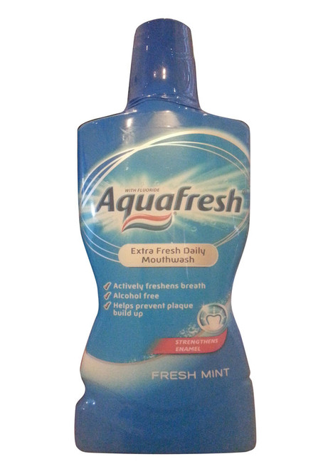 Aquafresh® Extra Fresh Daily Mouthwash Fresh Mint 500 ML Buy Online In Pakistan Best Price