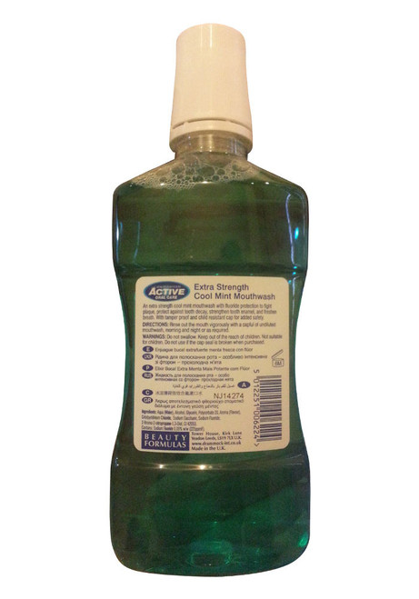 Active Oral Care Extra Strength Mouthwash Cool Mint Back
