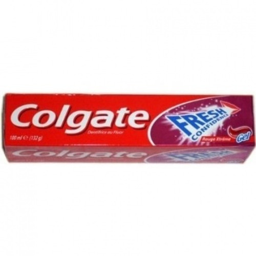 Colgate Fresh Confidence Xtreme Red Gel Toothpaste 100 ML