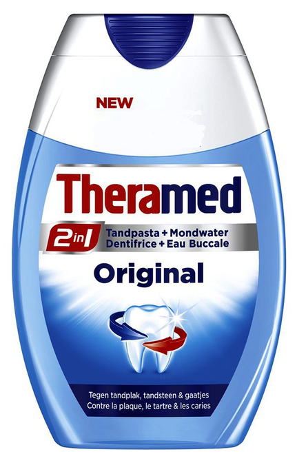 Theramed 2 In 1 Toothpaste Plus Mouthwash Original Buy online in Pakistan best price original product