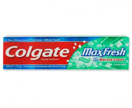 Colgate Max Fresh with Mini Breath Strips Clean Mint Toothpaste 100 ML buy online in Pakistan best price original product