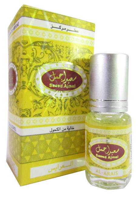 Saeed Ghani Saeed Ajmal Attar Al-Arais 3ml Buy Online In Pakistan Best Price