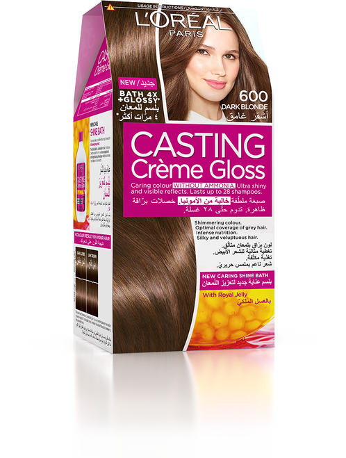 L'Oreal Casting Creme Gloss Hair Colour 600 Dark Brown Buy Online In Pakistan