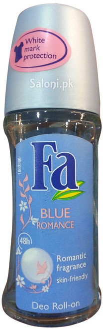 Fa Blue Romance Roll On Deodorant 48h Front