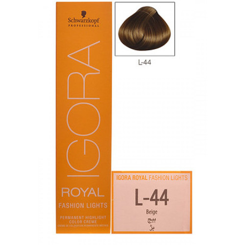 Schwarzkopf Igora Royal Fashion Light Hair Colour Beige