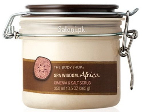 The Body Shop SPA Wisdom Africa Ximenia & Salt Scrub