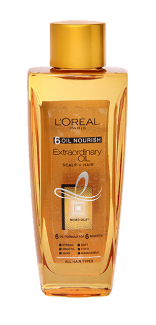 L'Oreal Paris 6 Oil Nourish Extraordinary Oil Scalp + Hair Buy Online In Pakistan Best Price Original Product