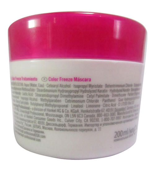 Schwarzkopf BC Bonacure Color Freeze Treatment  Original Product