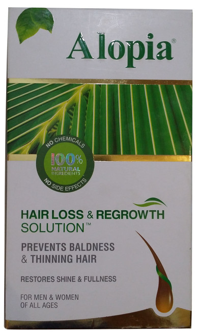 Alopia Hair Loss & Regrowth Solution 80 ML original product
