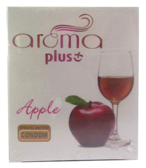 Aroma Plus Apple Special Dotted Condom Buy online in Pakistan