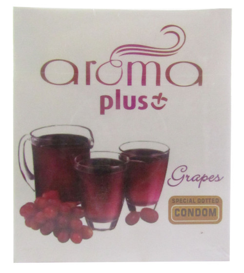 Aroma Plus Grapes Special Dotted Condom Buy online in Pakistan