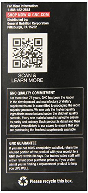 GNC Men's Ultra Saw Palmetto Formula 100% guarantee