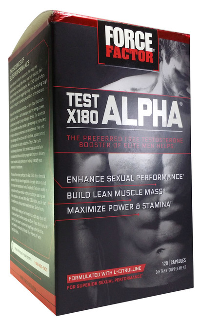 GNC Force Factor Test X180 Alpha best price