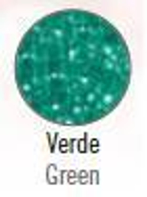 Stage Line Polyester Frost Glitter Verda (Green)