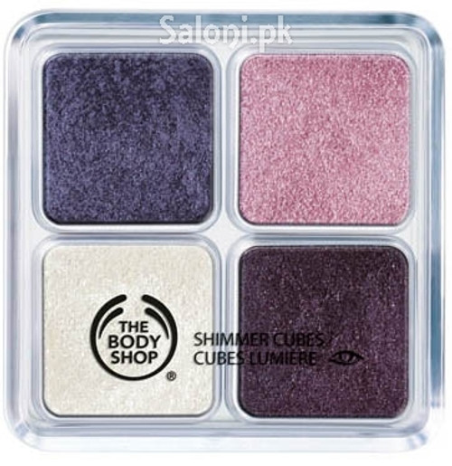 The Body Shop Shimmer Cubes Bunch of Violet Buy Online In Pakistan Best Price Original Product