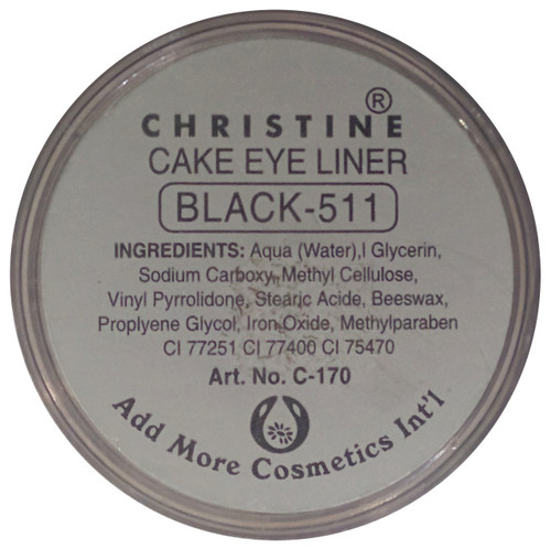 Christine Cake Eye liner Black 511 original product