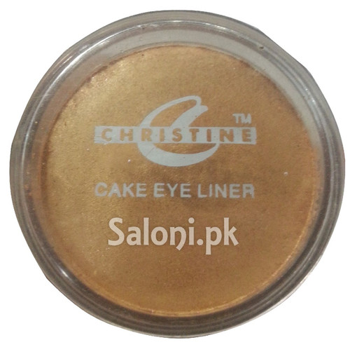 Christine Cake Eye Liner Golden - 529 Buy Online In Pakistan Best Price Original Product
