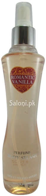 Hollywood Style Romantic Vanilla Perfume Body Splash 236 ML
