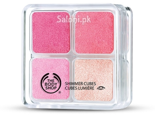 The Body Shop Shimmer Cube Palette - Pink Buy Online In Pakistan Best Price Original Product
