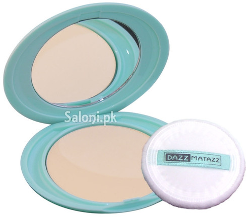 Dazz Matazz Silk Finish Compact Powder Cream Light 01 shop online in Pakistan best price