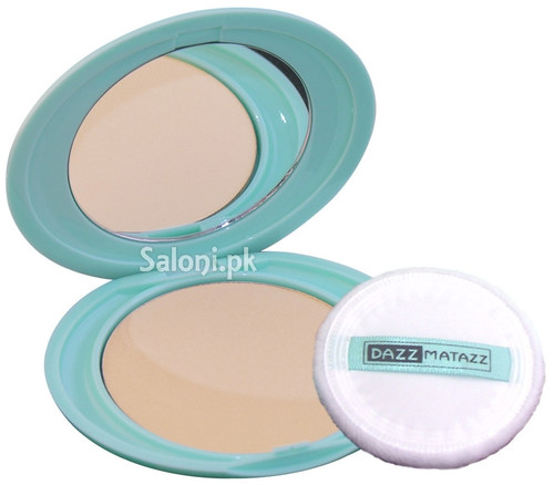 Dazz Matazz Silk Finish Compact Powder Honey Light 02 shop online in Pakistan best price