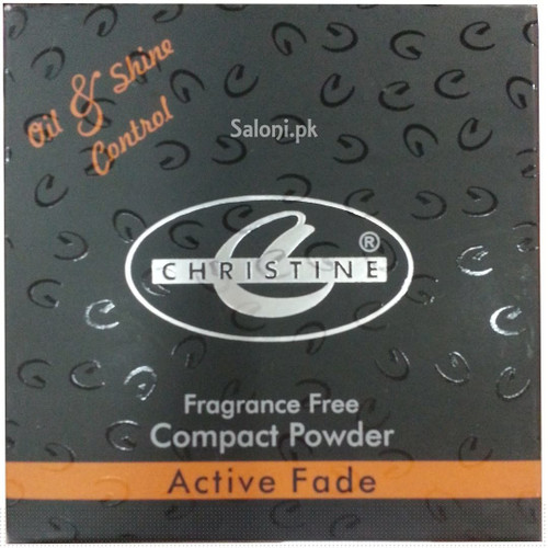 Christine Oil & Shine Control Compact Powder Ivory 910 front