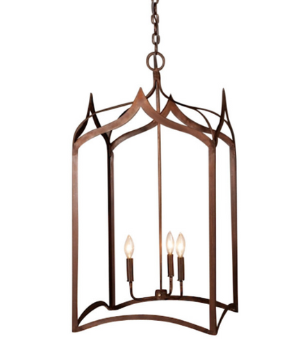Discount st james gothic cage chandelier free shipping st james gothic cage copper chandelier aloadofball Choice Image