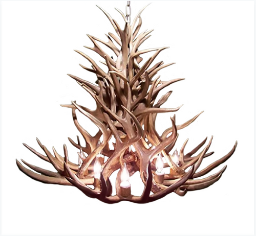 Discount new mexico antler chandelier free shipping new mexico deer antler chandelier aloadofball Choice Image