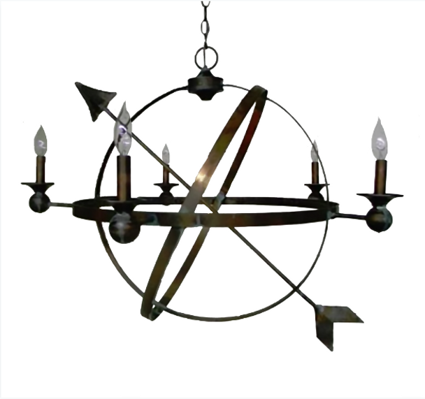 St. James Weather Compass Copper Lantern