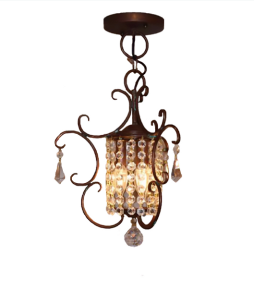 St. James Livorno Copper Chandelier