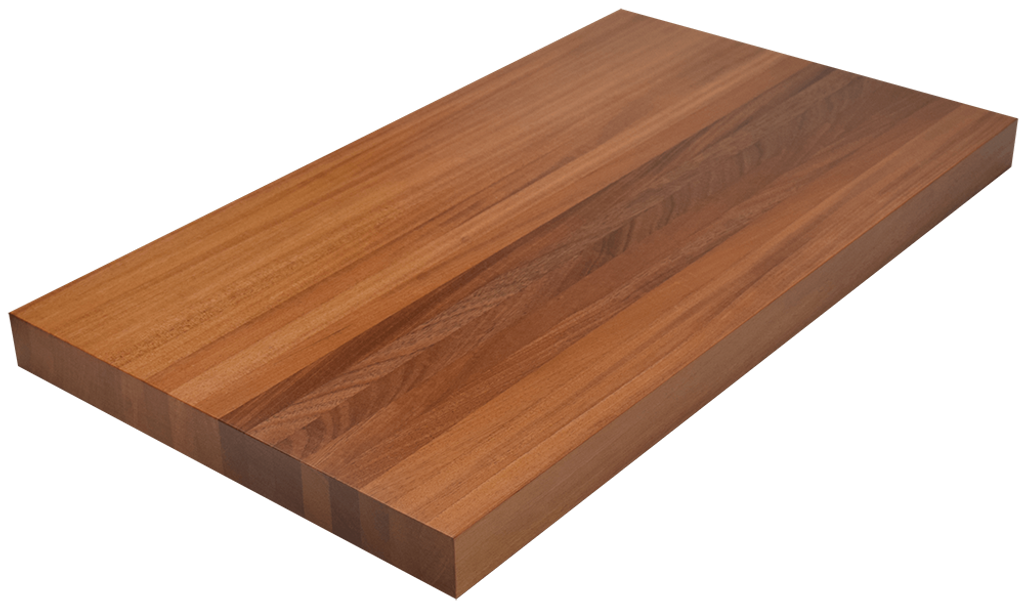 african mahogany edge grain butcher block countertop hardwood
