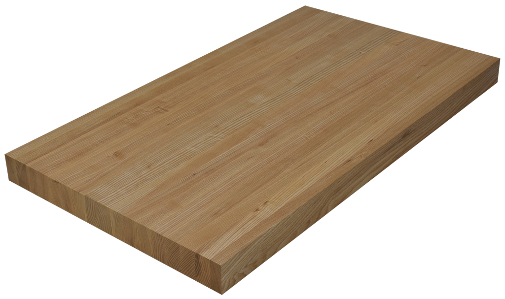 Ash Edge Grain Butcher Block Countertop