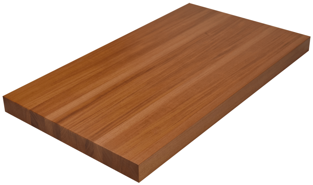 Genuine Mahogany Edge Grain Butcher Block Countertop