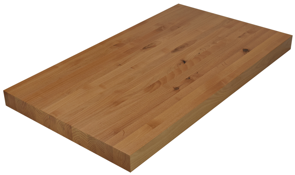 Knotty Alder Edge Grain Butcher Block Countertop