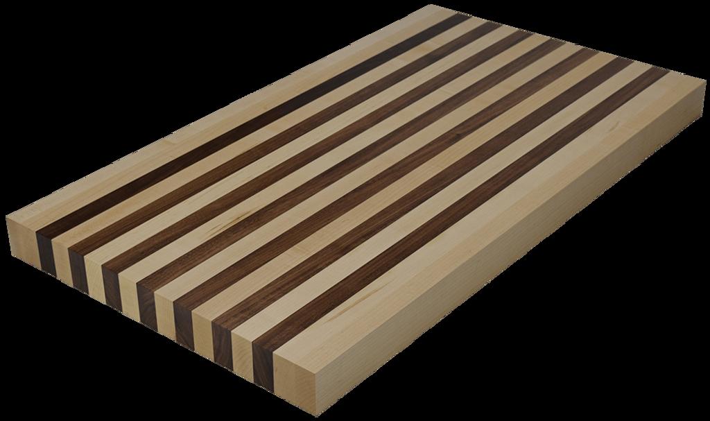 Mixed Maple/Walnut Edge Grain Butcher Block Countertop