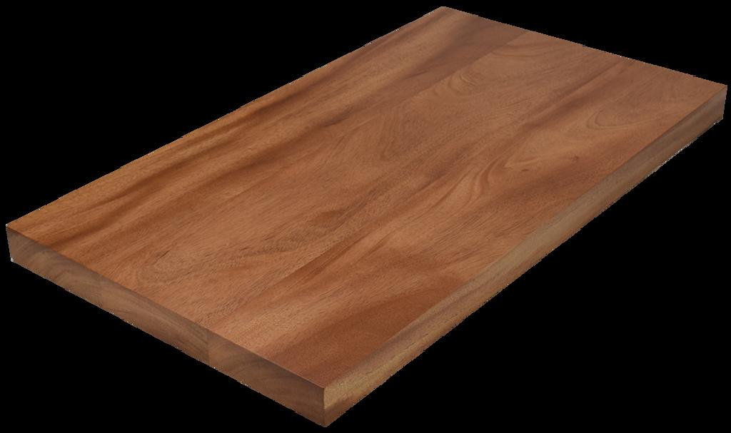 African Mahogany Wide Plank (Face Grain) Countertop