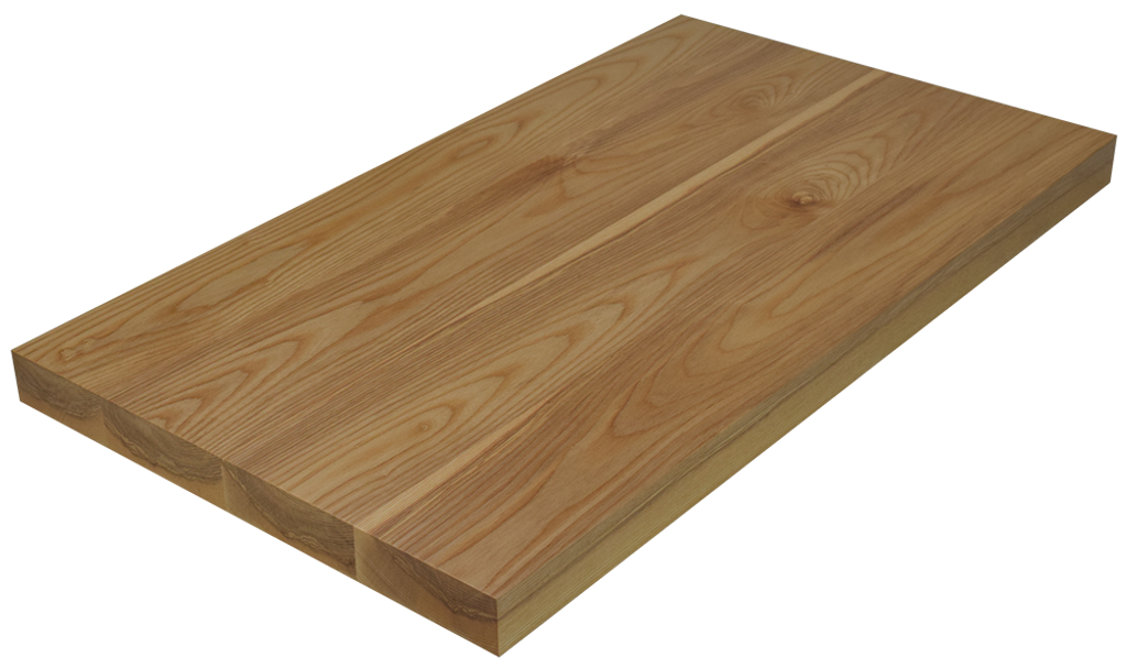 Ash Wide Plank (Face Grain) Countertop
