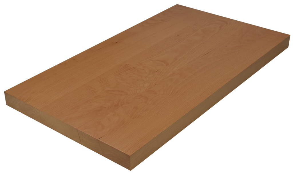 Beech Wide Plank (Face Grain) Countertop